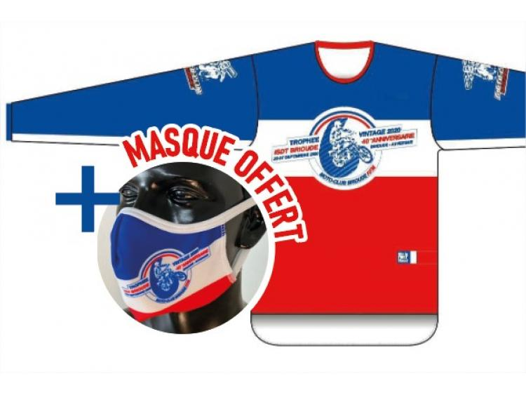 Pack ISDT Brioude : Maillot + Masque